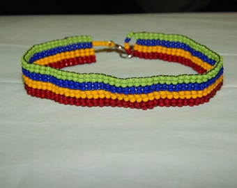 Skittles Rainbow Bracelet