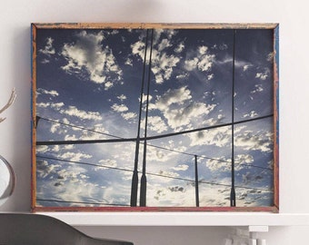 Sailing Print| Printable Wall Art, Clouds, Wall Art Print, Poster, Photography, Sea, Sky, Travel