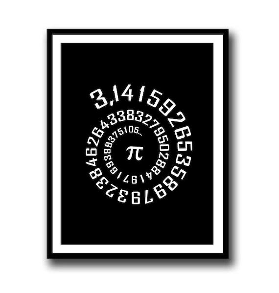 image about Pi Printable named Amount PI, Pi Logo, Pi Printable, Math Printable, Math Trainer Reward, Math cl, Arithmetic print, math wall artwork, math poster, math geek