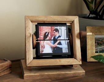 CUSTOM WEDDING Flipbook -- Framed, Wood