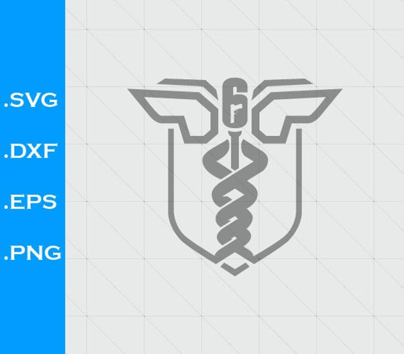 Rainbow Six Siege Operation Health Inspired Logo Svg File Etsy