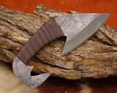 Mittelalter Wikinger Messer Gürtel Messer handgeschmiedet 4286