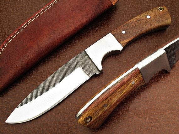 Mittelalter  Messer Gürtel Messer handgeschmiedet 1095 stahl CR51