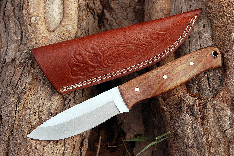 handgeschmiedet 4254 Mittelalter  Messer Hals  Messer
