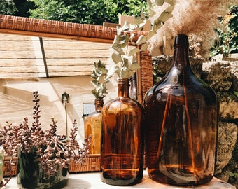 Amber glass bottle/Carboy