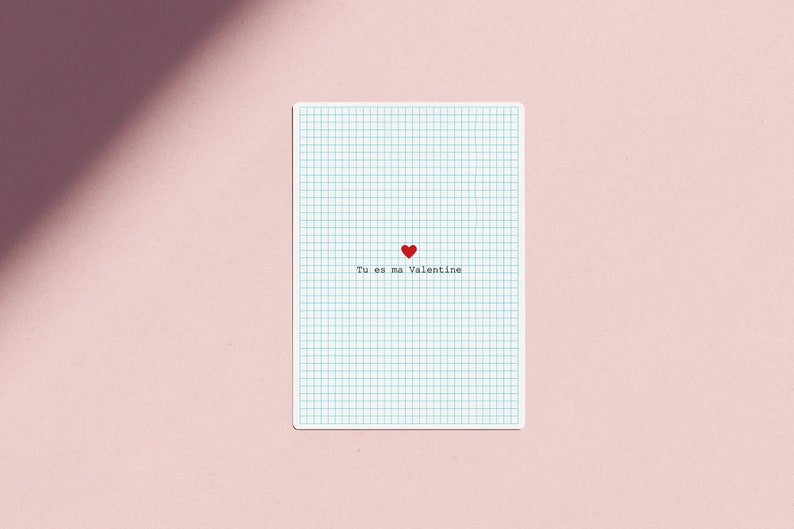 Postcard of love  You are my Valentine  image 0