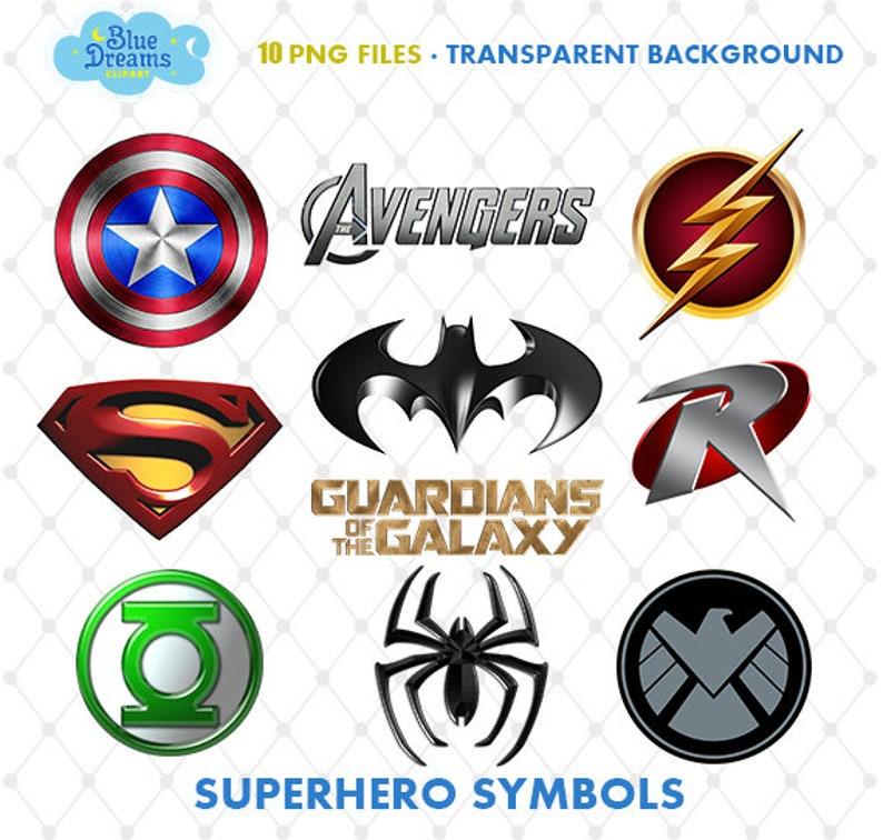 graphic about Superhero Logo Printable called Superhero Symbols Clipart, PNG Clip Artwork Documents, Superhero Brand Printable Pics, Electronic Obtain, Sbook, Superhero Social gathering, Blue-045