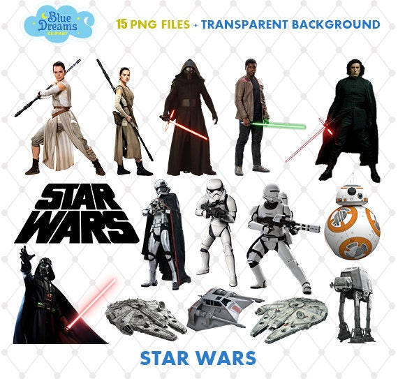 picture about Star Wars Clip Art Free Printable identified as Star Wars Clipart, PNG Clip Artwork Documents, Star Wars Printable Shots, Rey, Electronic Obtain, Sbook, Clear Record, Blue-031