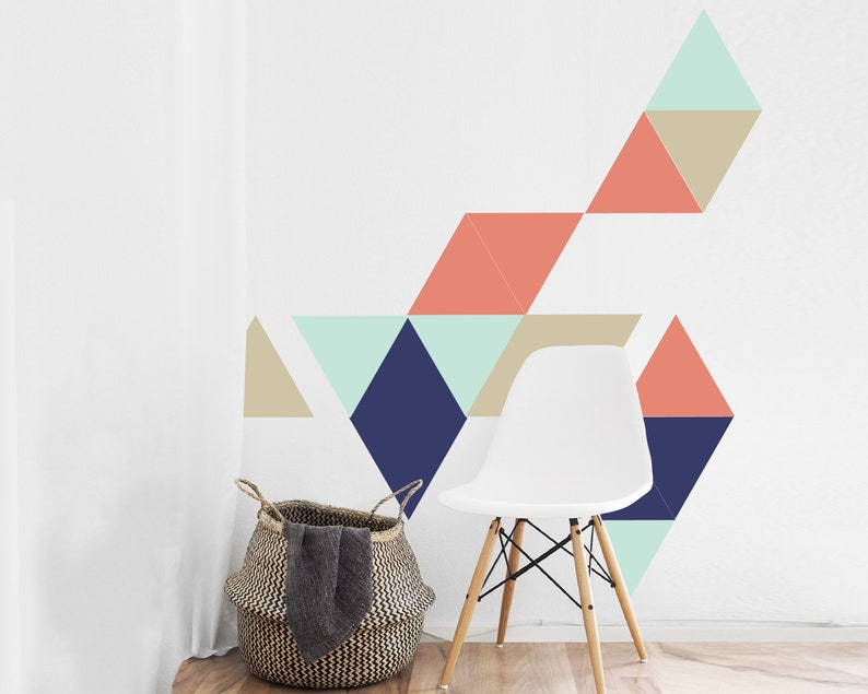 Easy No Painting Peel And Stick Wall Decor Removable Wallpaper Etsy