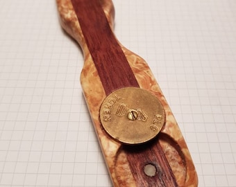 Wooden beer/ soft drink bottle opener