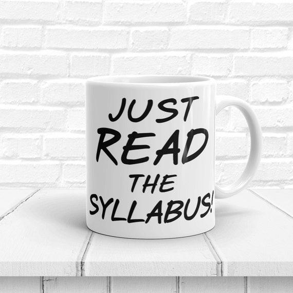 Read the Syllabus