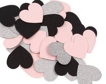 Table confetti, wedding, baptism, holiday ect... heart, round