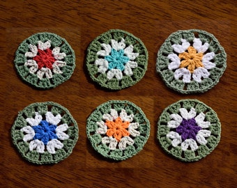 Crochet Circles for Crafts