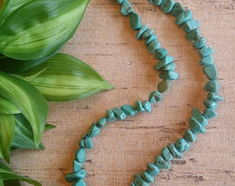 Turquoise Necklace, Southwest Necklace, Native American style Necklace