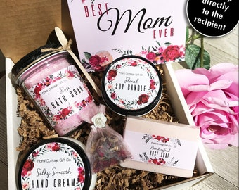 Best Mom Gift Box Mothers Day New Set Ever For Mother Birthday Rose