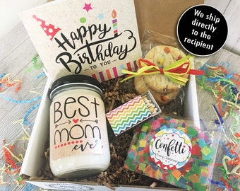 Birthday Gift For Mom Mother Care Package Box Her Best Ever Set
