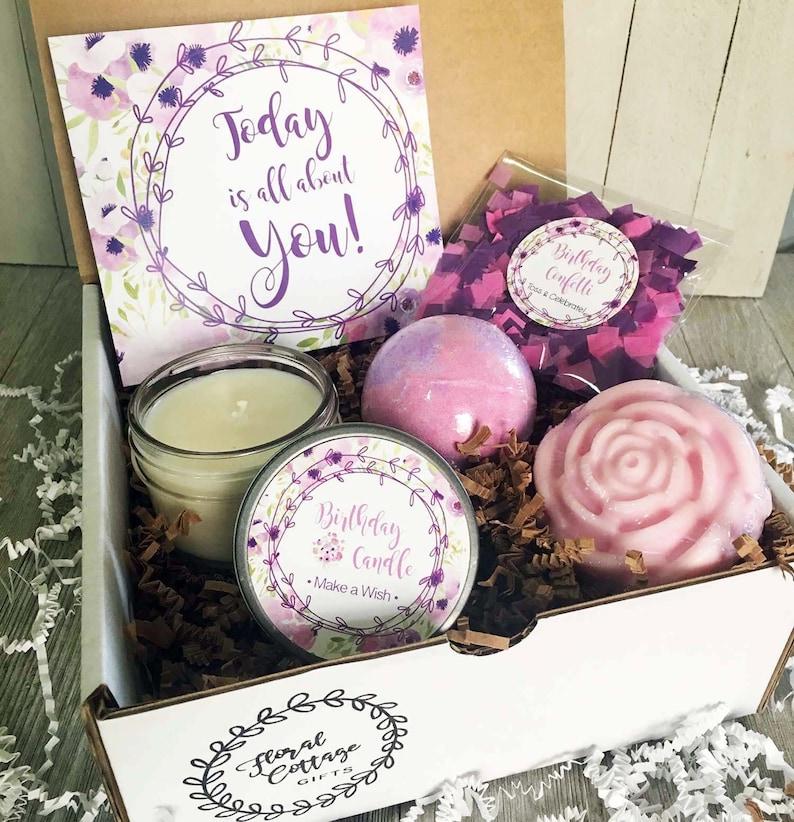 Happy Birthday Gift Box In A Mom Friend