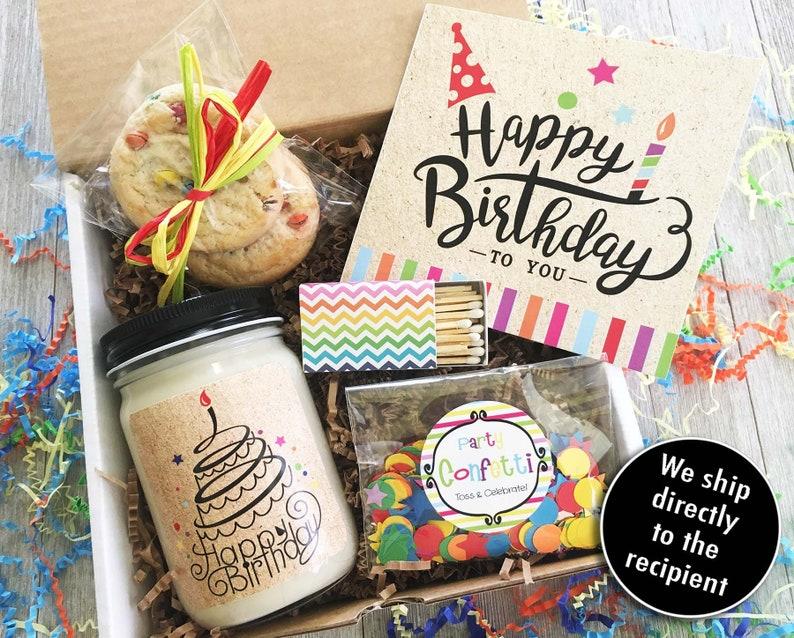 Happy Birthday Gift Box In A Friend