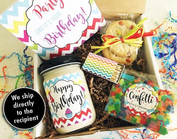Happy Birthday Gift Box In A Best Friend