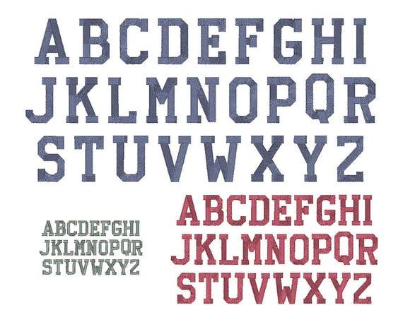 embroidery fonts monogram athletic block font monogram