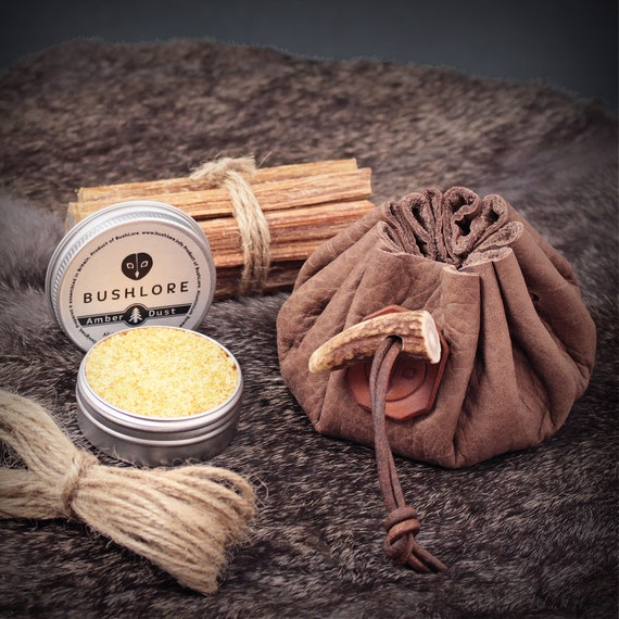 Outdoor Wax Ropes Cord Survival Camping Waterproof Waxed Fire Starter Lighter