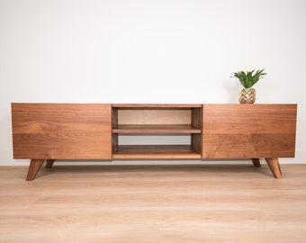 Wondrous Mid Century Console Table Etsy Ncnpc Chair Design For Home Ncnpcorg
