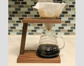 Pour Over Coffee Stand | Hario V60 | Pour Over Coffee Maker | Drip Coffee Maker | Coffee Stand | Drip Coffee Stand | Industrial | Chemex