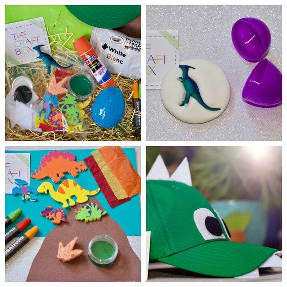 The Dinosaur Craft Box Kids Kits Birthday