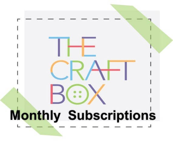 The Subscription Box For Kids Crafts Kids Craft Kit Arts Etsy
