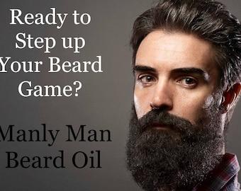 Manly Man Beard Oil