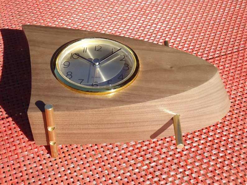 Mid Century Modern Boomerang Clock