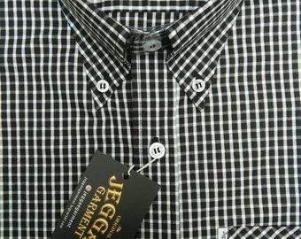 Jeggae Shirt 'Rudies' Black Retro Suedhead/Skinhead Reggae Style NpOgOt