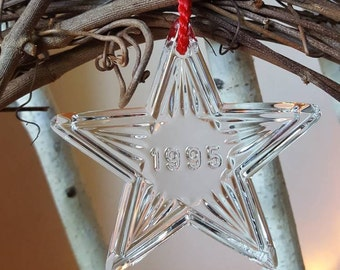 Waterford Christmas Memories collection 1995