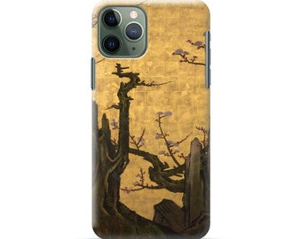 "iPhone case ""Kano Sansetsu  Old Plum"""