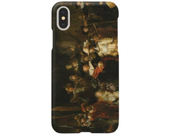 iPhone case 'Night Watch' by Rembrandt   iPhone XR case / iPhoneXS Max case / iPhone X case / iPhone8 case / iPhone 8 case / iPhone 7 case