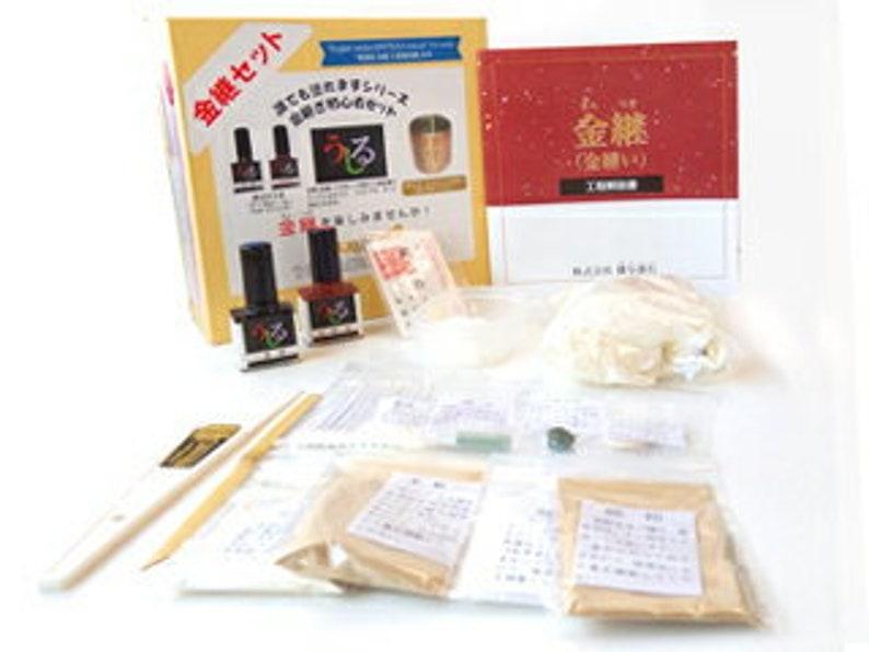 The Kintsugi Kit\u3000Made in JAPAN   Real Pure Japanese Ursuhi Kintsugi DIY