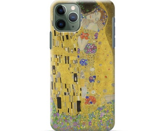 "iPhone case ""Klimt  The Kiss"" Phone XR case / iPhoneXS Max case / iPhone X case / iPhone8 case / iPhone 8 Plus case/ iPhone 7/ iPhone11"