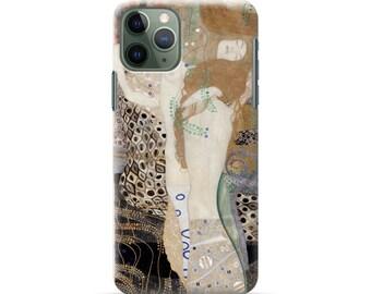 "iPhone case ""Klimt Water Serpents I"" Phone XR case / iPhoneXS Max case / iPhone X case / iPhone8 case / iPhone 8 Plus case/ iPhone 11"