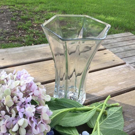 Beautiful Hoosier Glass Vase Etsy