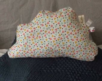 Small cloud cushion to decorate the room