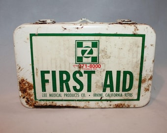 first aid kits old etsy
