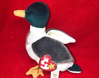 1997 Ty Beanie Baby Jake the Mallard Duck b11ff99bf871