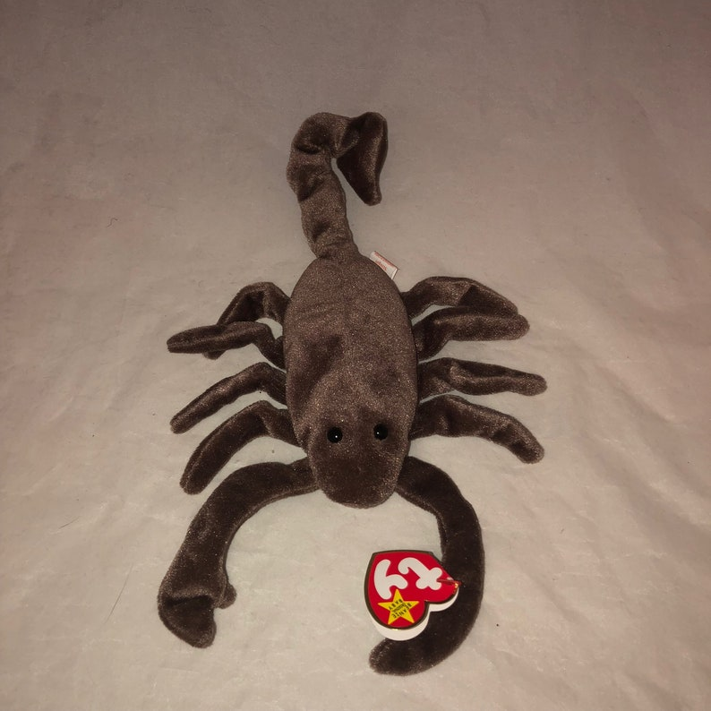 f90d895438e 1997 Ty Beanie Baby Stinger The Scorpion