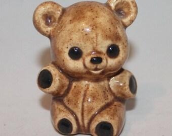 Porcelain Classic Teddy bear Figure