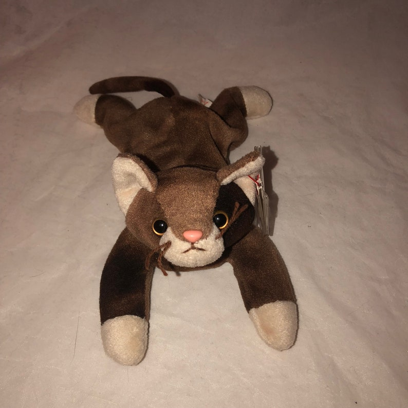cf266129cf6 1997 Ty Beanie Baby Pounce the Cat