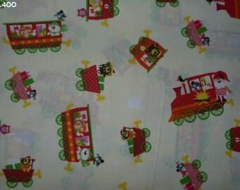 Fabric Christmas Train C400 34x50cm coupon