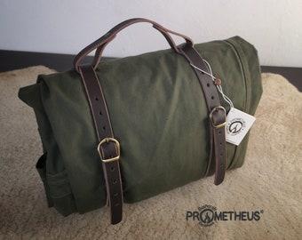 LAVVU POLISH PALATKA Leather Straps and Handle