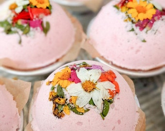 The Sonoran Collection creosote, prickly pear & wildflower bath bomb
