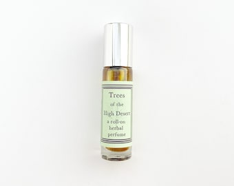 Trees of the High Desert - a roll on herbal perfume