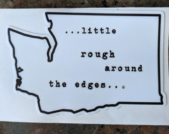 Washington Rough Sticker